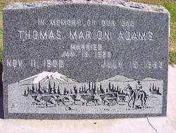 Thomas Marion Adams