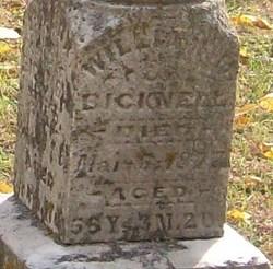 William H Bicknell