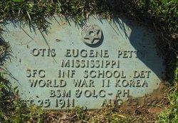 Otis Eugene Petty