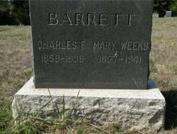 Mary <i>Weeks</i> Barrett