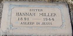 Hannah <i>Travland</i> Miller