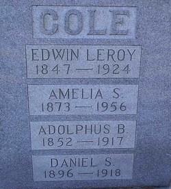 Adolphus B Cole