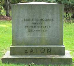 Jennie M <i>Hooper</i> Eaton