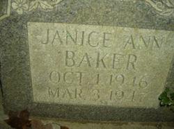 Janice Ann Baker