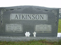 Catherine Cat <i>Baker</i> Atkinson