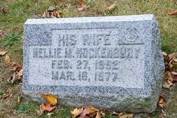 Nellie M <i>Hockenbury</i> Hamilton