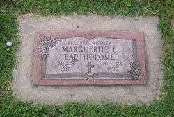 Marguerite E <i>Buck</i> Bartholome