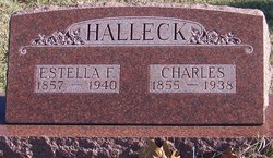 Estella Frances <i>Allen</i> Halleck