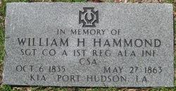 William H Hammond