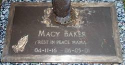 Macy <i>Bryer</i> Baker