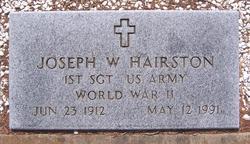 Joseph W Hairston