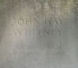 John Hay Jock Whitney