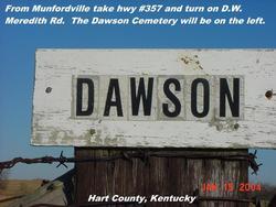 Dawson Cemetery