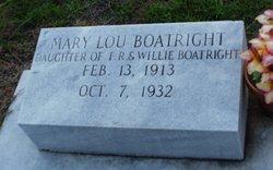 Mary Lou Boatright