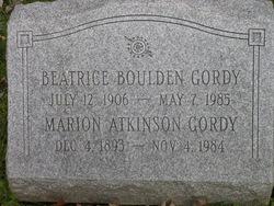Marion Atkinson Gordy
