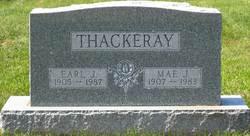 Mae Irene <i>Roetzel</i> Thackeray