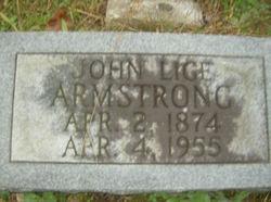 John Elijah Lige Armstrong