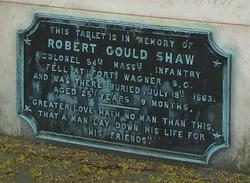 Col Robert Gould Shaw
