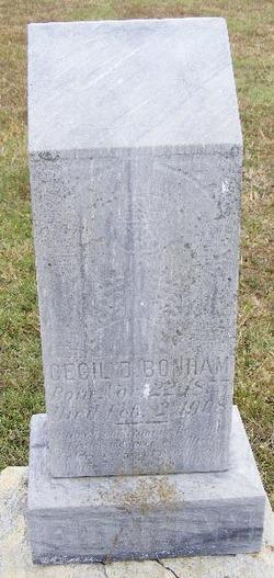 Cecil D. Bonham