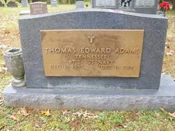 Thomas Edward Adams