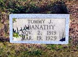 Tommy J Abanathy