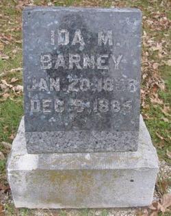 Ida M <i>Farwell</i> Barney