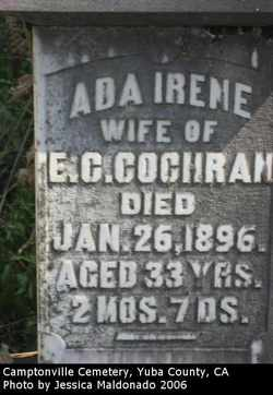 Ada Irene Cochran