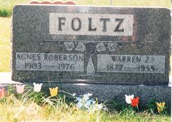 Warren Zelsbur Foltz