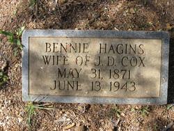 Bennie <i>Hagins</i> Cox