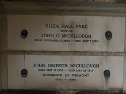 Elizabeth Hall Lizzie <i>Park</i> McCullough