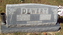 Fred William Dewert
