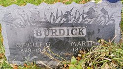 Martha Lucetta <i>Davis</i> Burdick