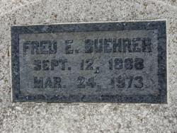 Fred E Buehrer