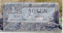 Ruby Nettie <i>Graham</i> Bolen