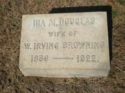 Ida M. <i>Douglas</i> Browning