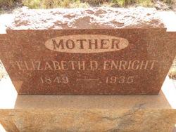 Elizabeth D. <i>Lee</i> Enright