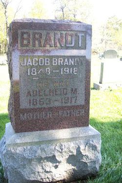 Adelheid Margaret <i>Miller</i> Brandt