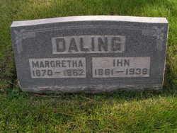 Margretha Garrelts <i>Saathoff</i> Daling