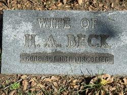Mrs H. A. Beck