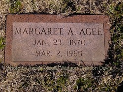 Margaret Ann <i>Riley</i> Agee