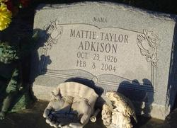 Mattie <i>Taylor</i> Adkison