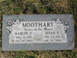 Mahlon Edward Moothart