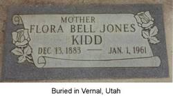 Flora Belle <i>Jones</i> Kidd