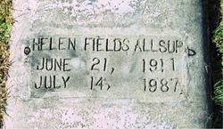 Helen <i>Fields</i> Allsup