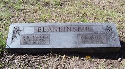G Harold Blankinship