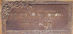 Agnes Margaret Abendroth