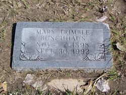 Mary <i>Trimble</i> Bruschhaus