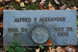 Alfred P Alexander