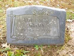 Exie Leona <i>Inman</i> Adams