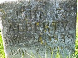 John F Alberty